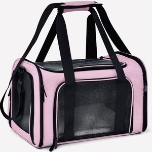Pink Small/Medium Cat and Dog Carrier